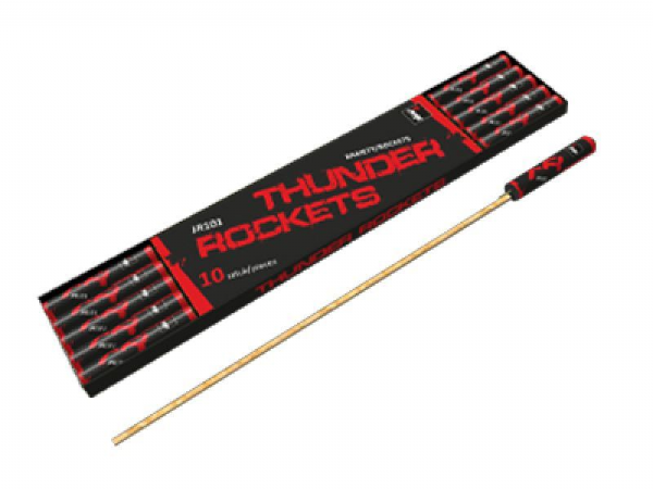 Thunder Rockets- Pack of 10